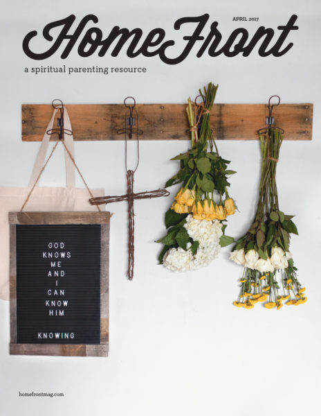 HomeFront April 2017 Knowing