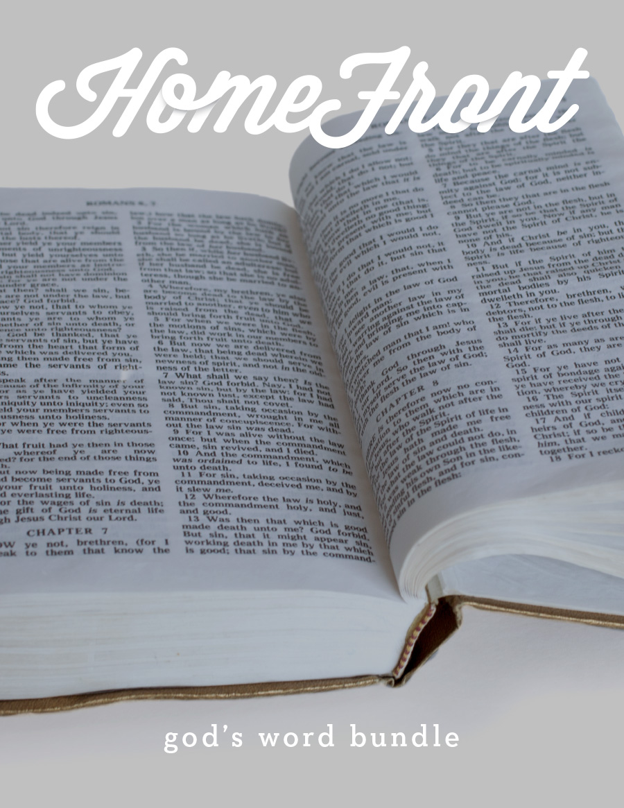 HomeFront God's word bundle