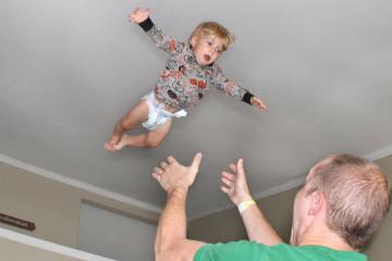 When Dads Throw Their Kids in the Air